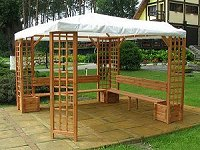 gartenpavillons garten pavillon. Black Bedroom Furniture Sets. Home Design Ideas