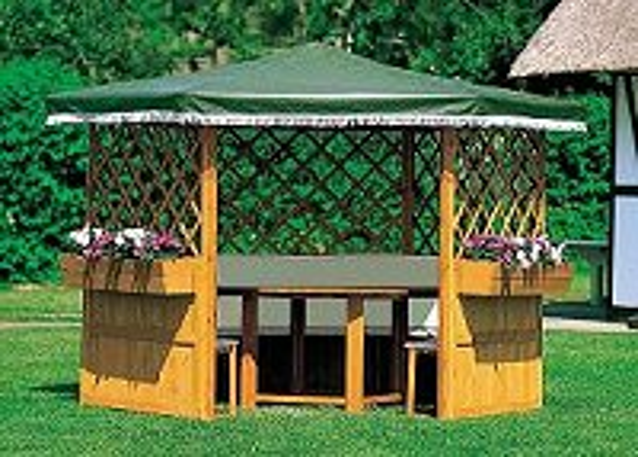 garten pavillon holz bausatz. Black Bedroom Furniture Sets. Home Design Ideas